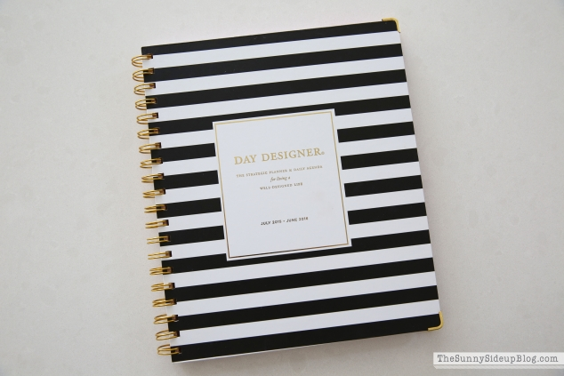 black-and-white-striped-planner