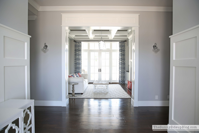 Formal Living Room Progress! - The Sunny Side Up Blog