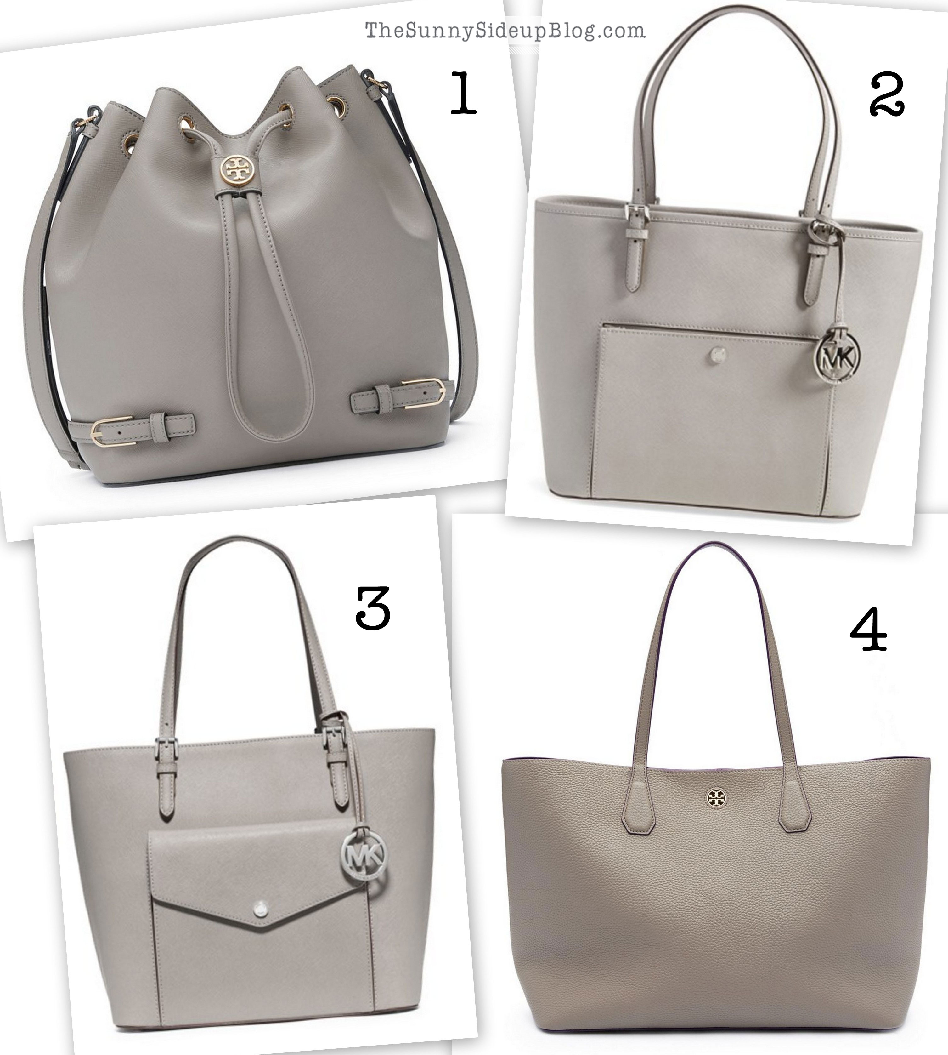 Grey Purses For Fall