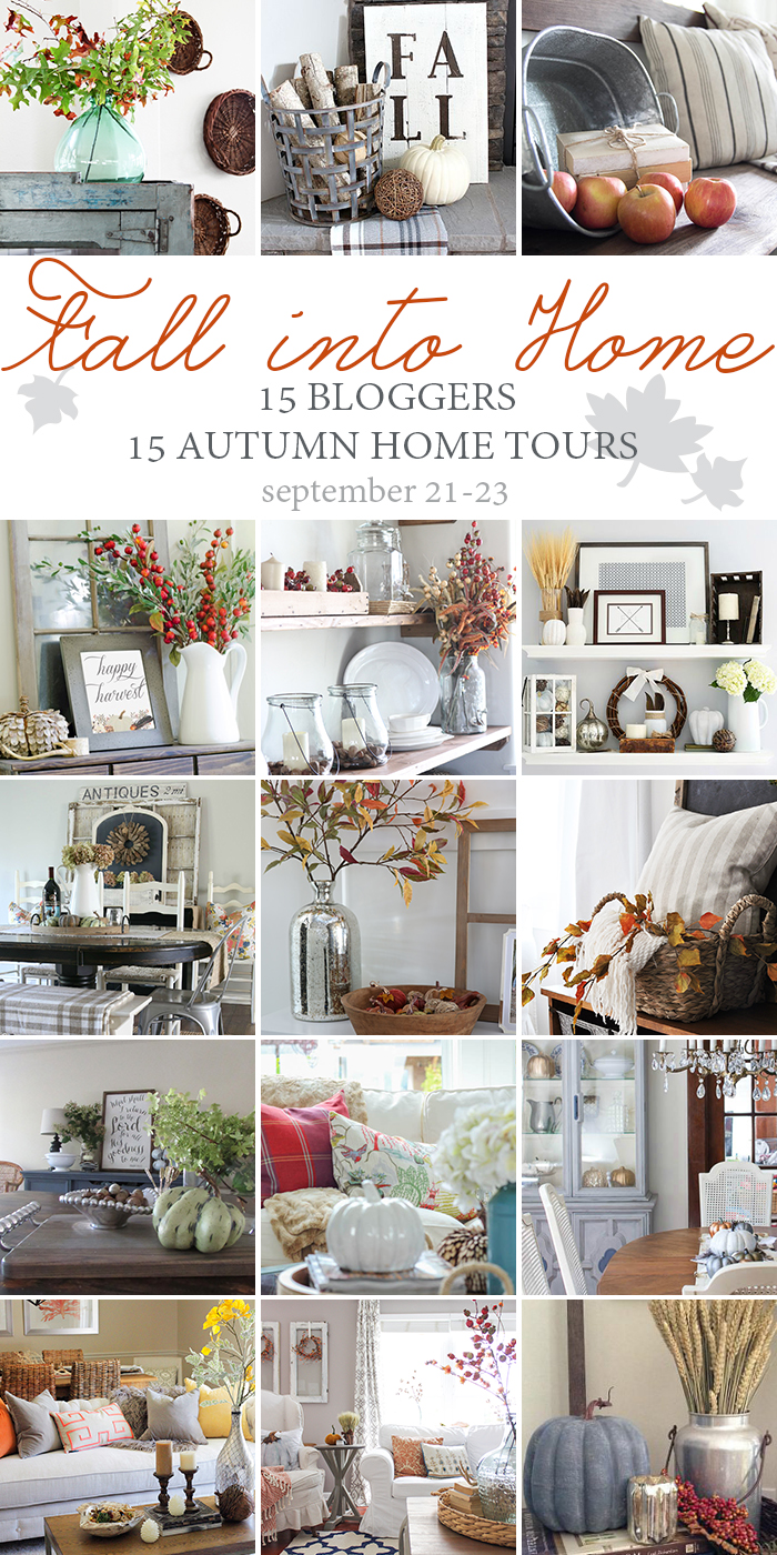 Fall Into Home Tour - The Sunny Side Up Blog