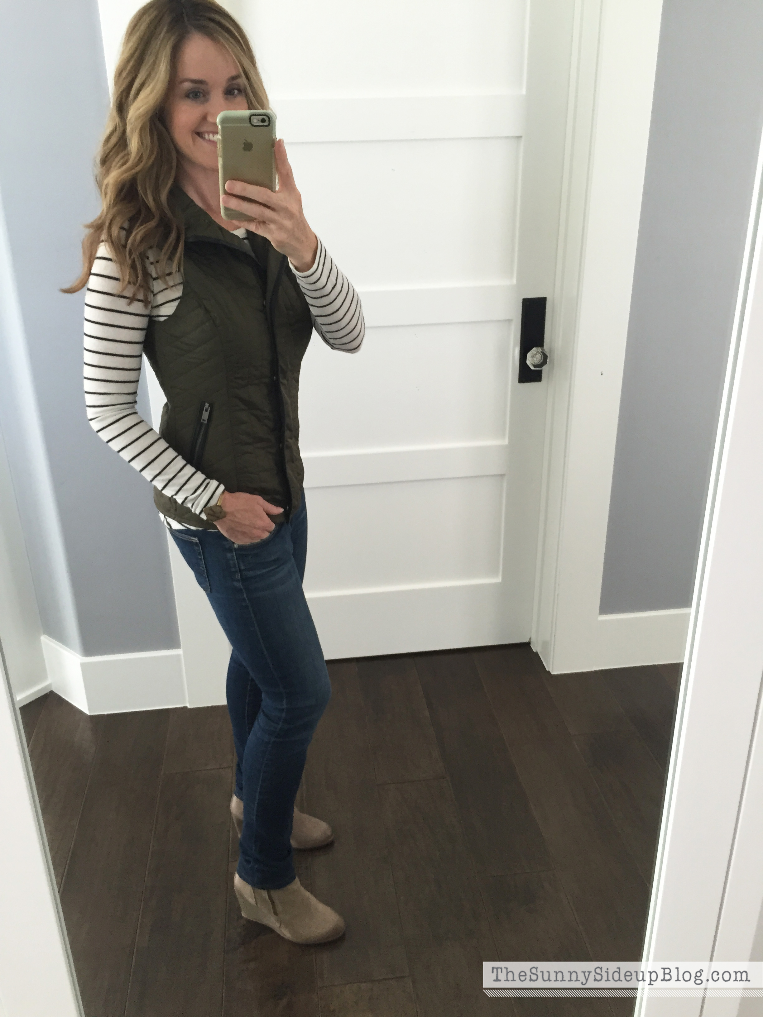 Fashion Friday – stripes and green!