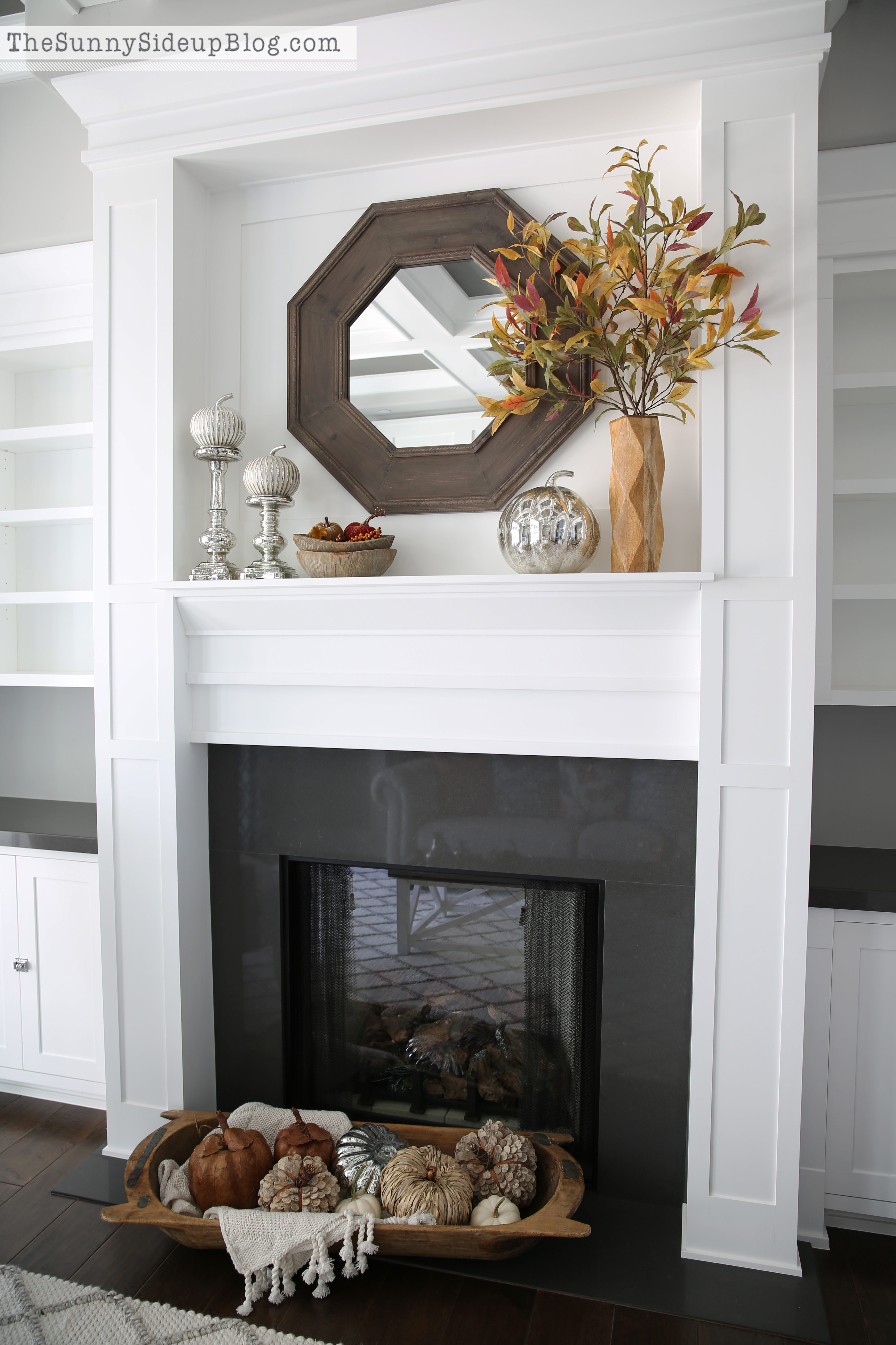 fall and chairs in the formal living room the sunny side up blog they re ok but seem like a bit much too bushy for this narrow mantel so i m going to tweak that but hello decor in this room i m celebrating