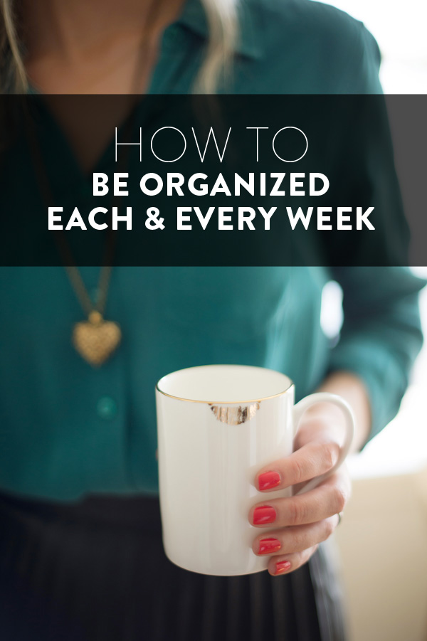 Friday Favorites – favorite organizing posts!
