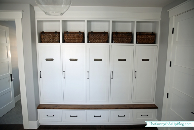 mudroom lockers and drawers