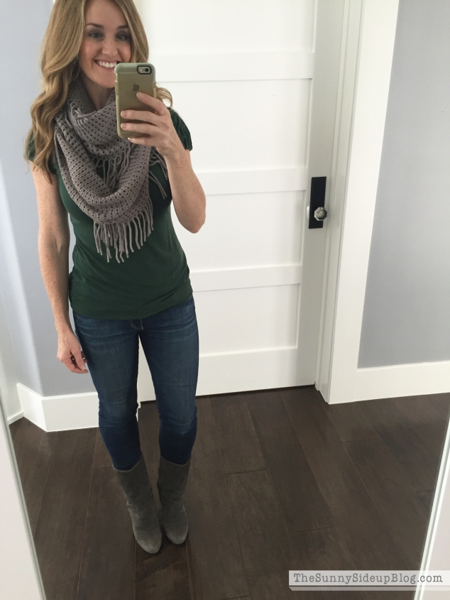 neutral scarves for fall