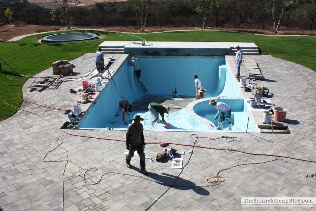 plastering-pool