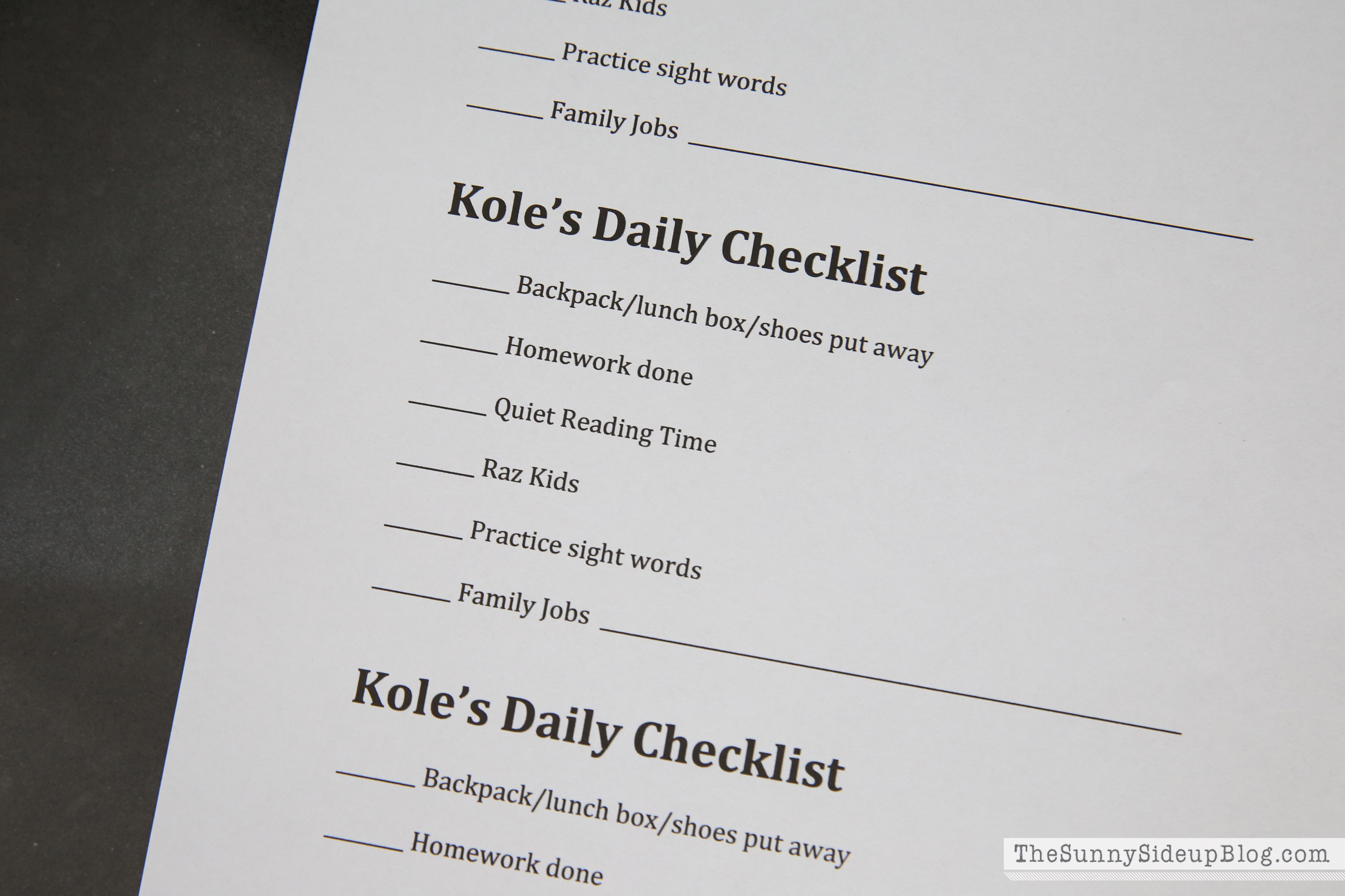 after-school-chore-chart