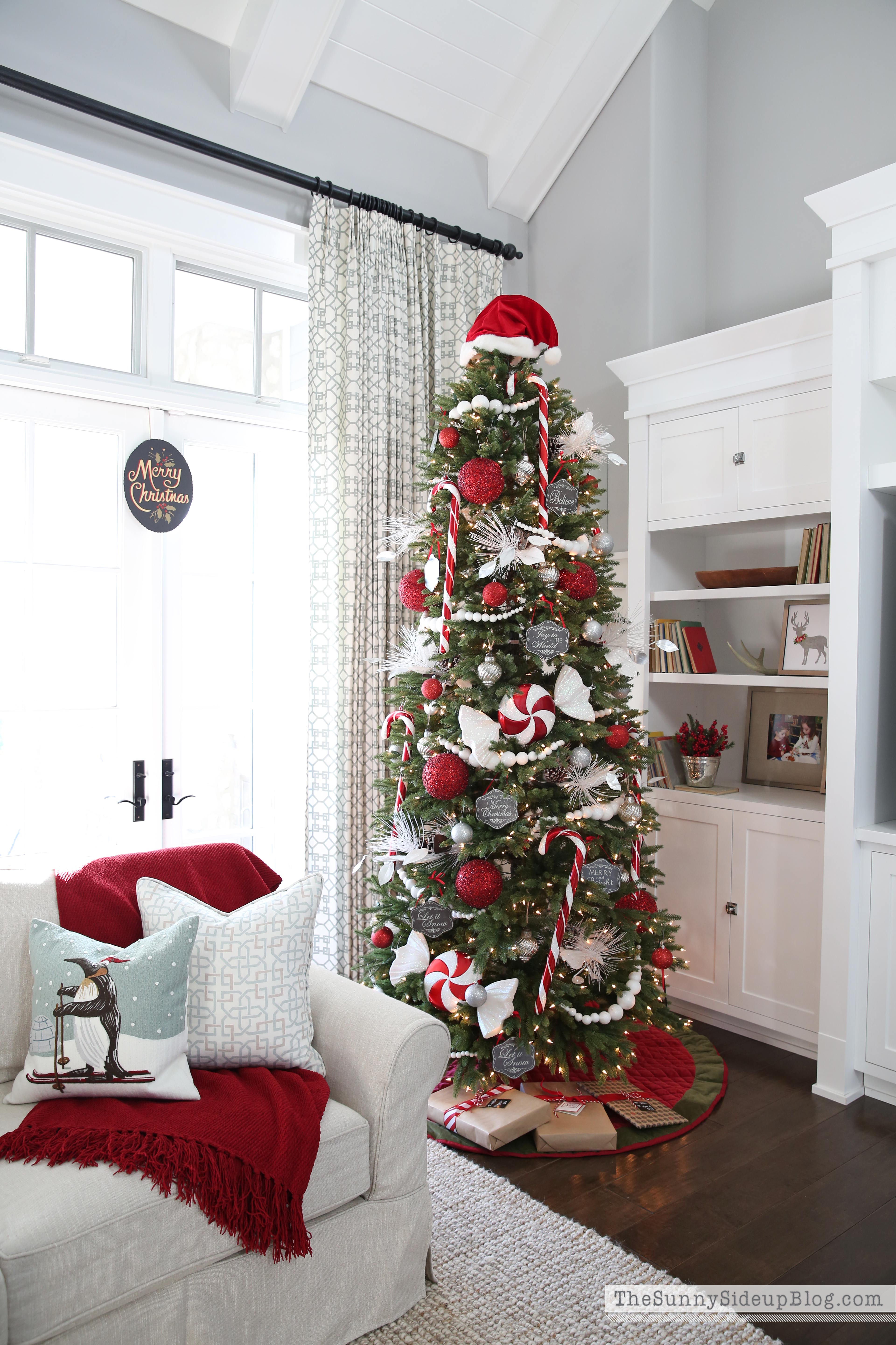 Our Christmas Tree - The Sunny Side Up Blog