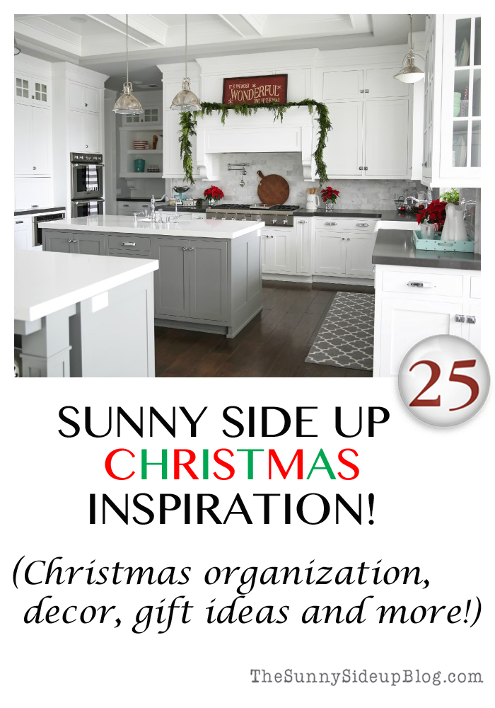 sunny side up christmas inspiration
