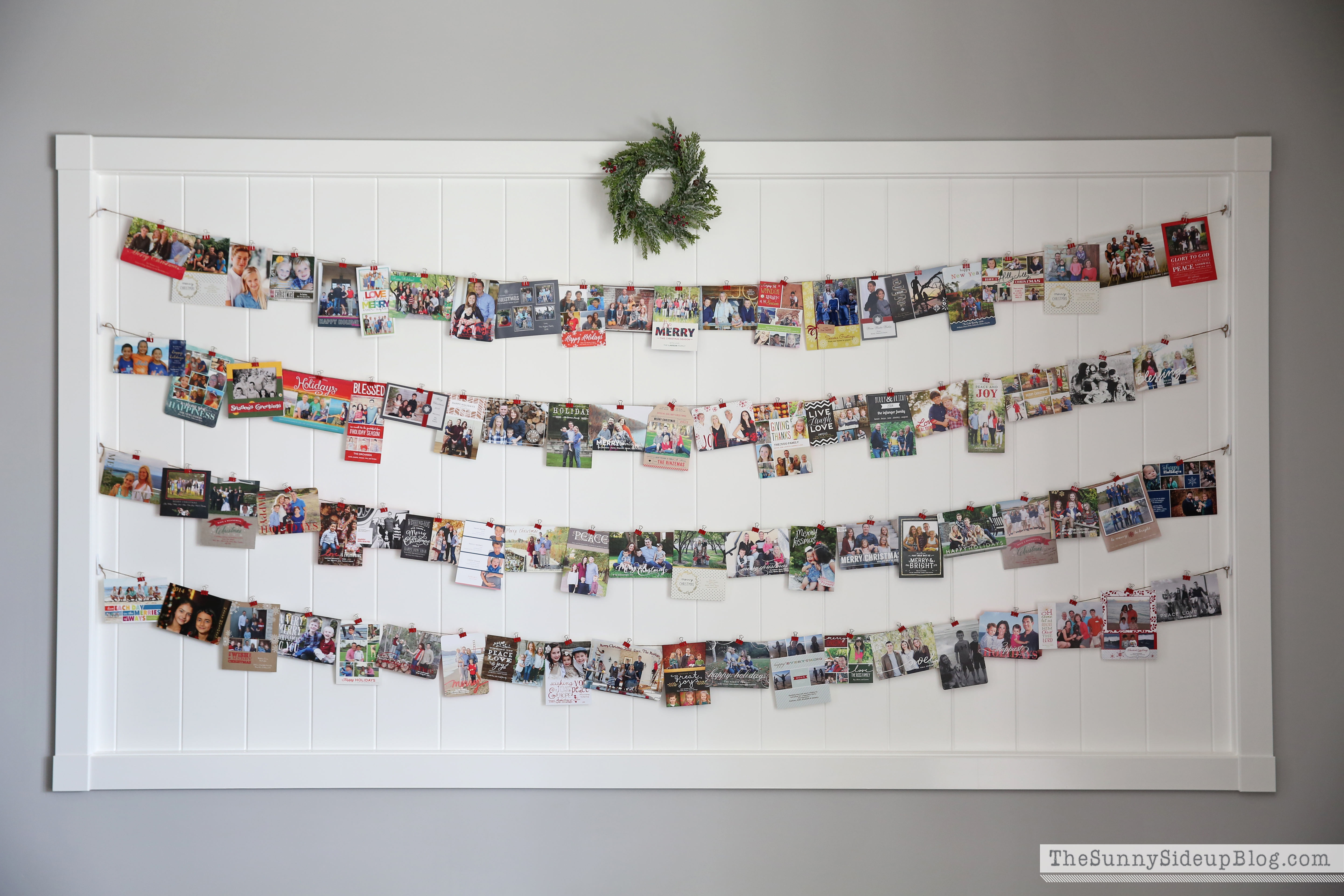 christmas-card-wall