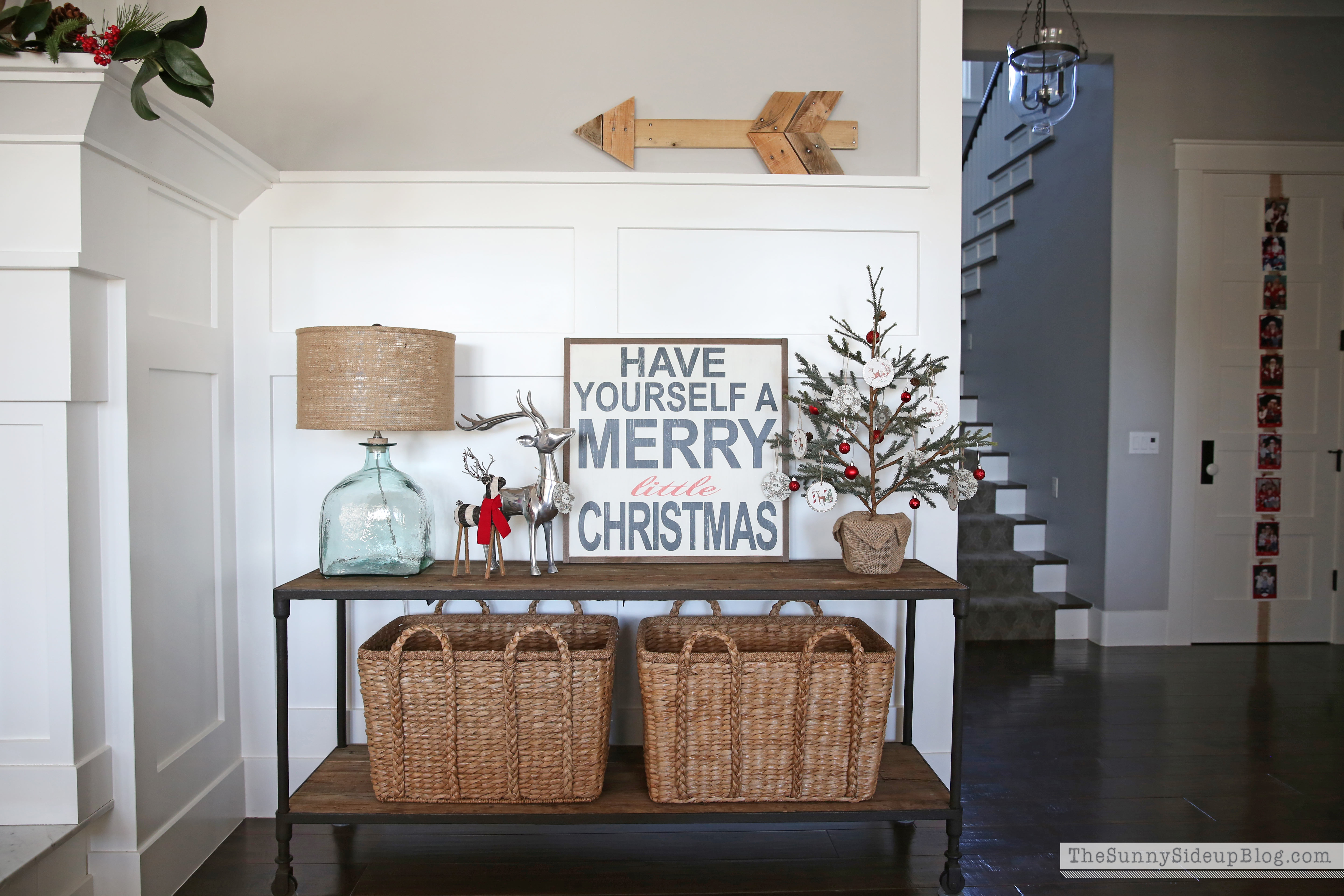 christmas-console-table