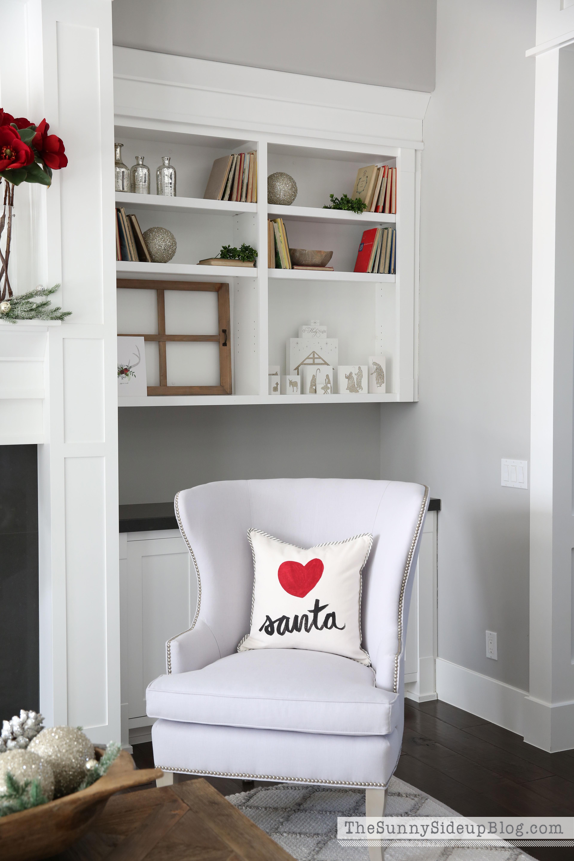 love-santa-pillow