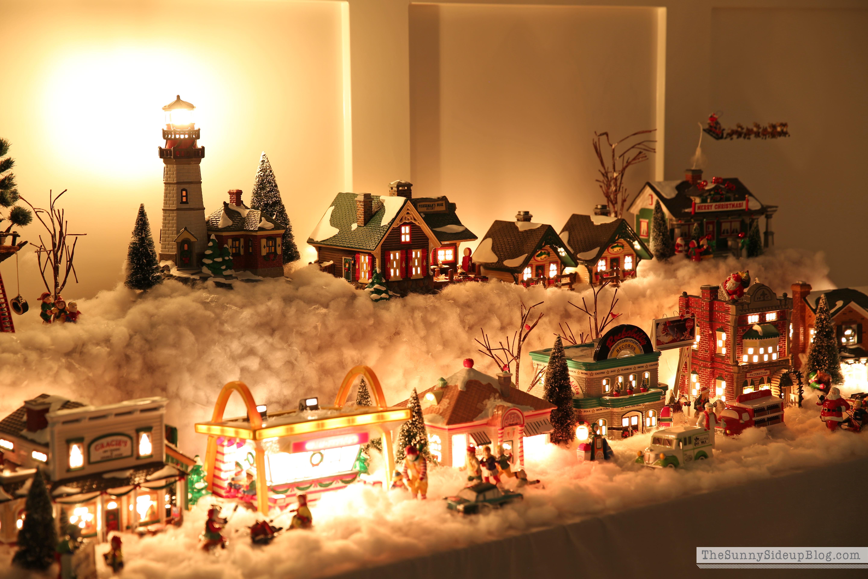 snow-village-at-night