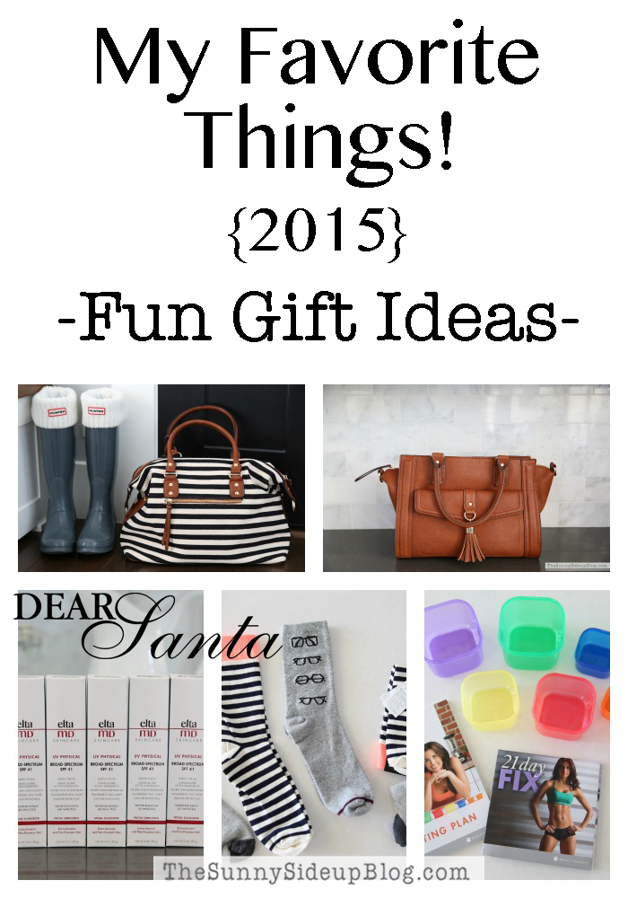 sunny side up favorite things 2015