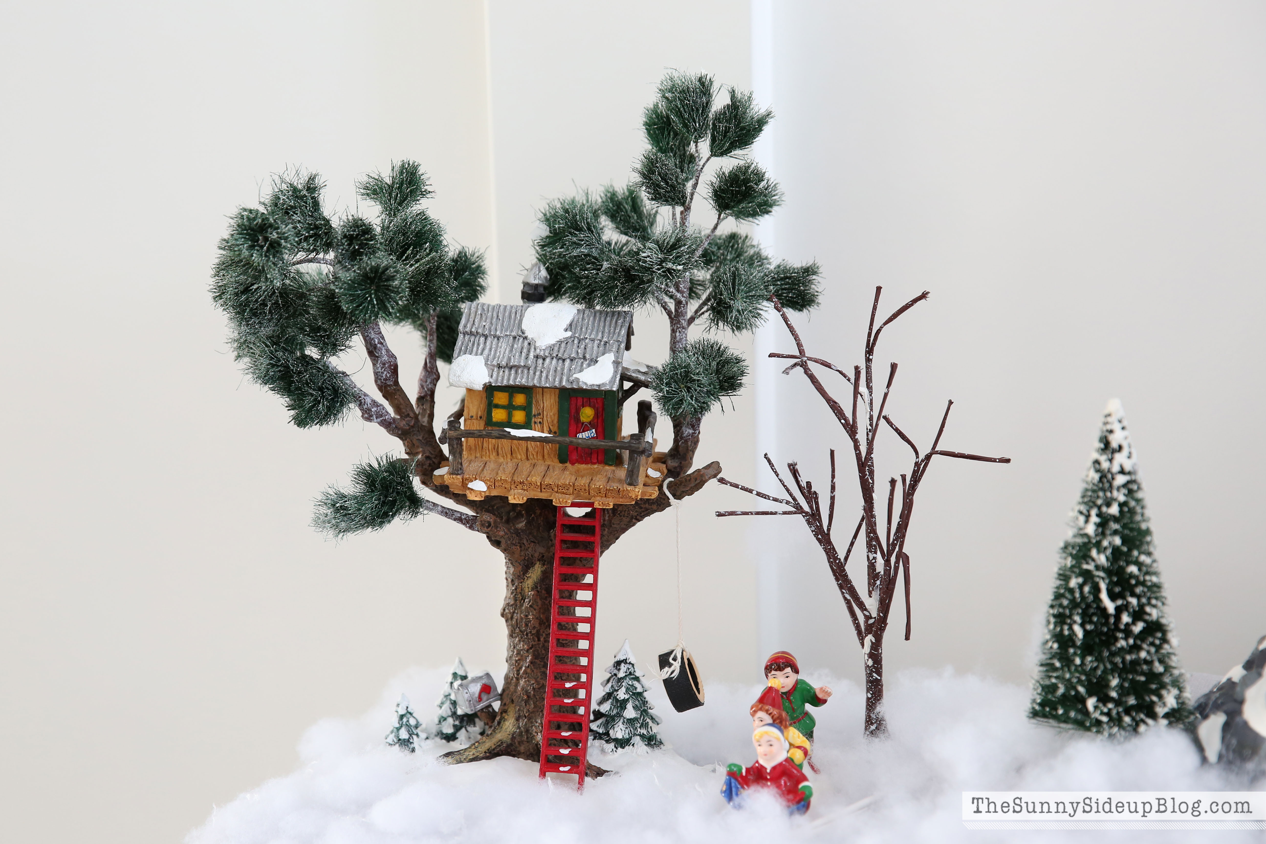 Christmas in the Entry - The Sunny Side Up Blog