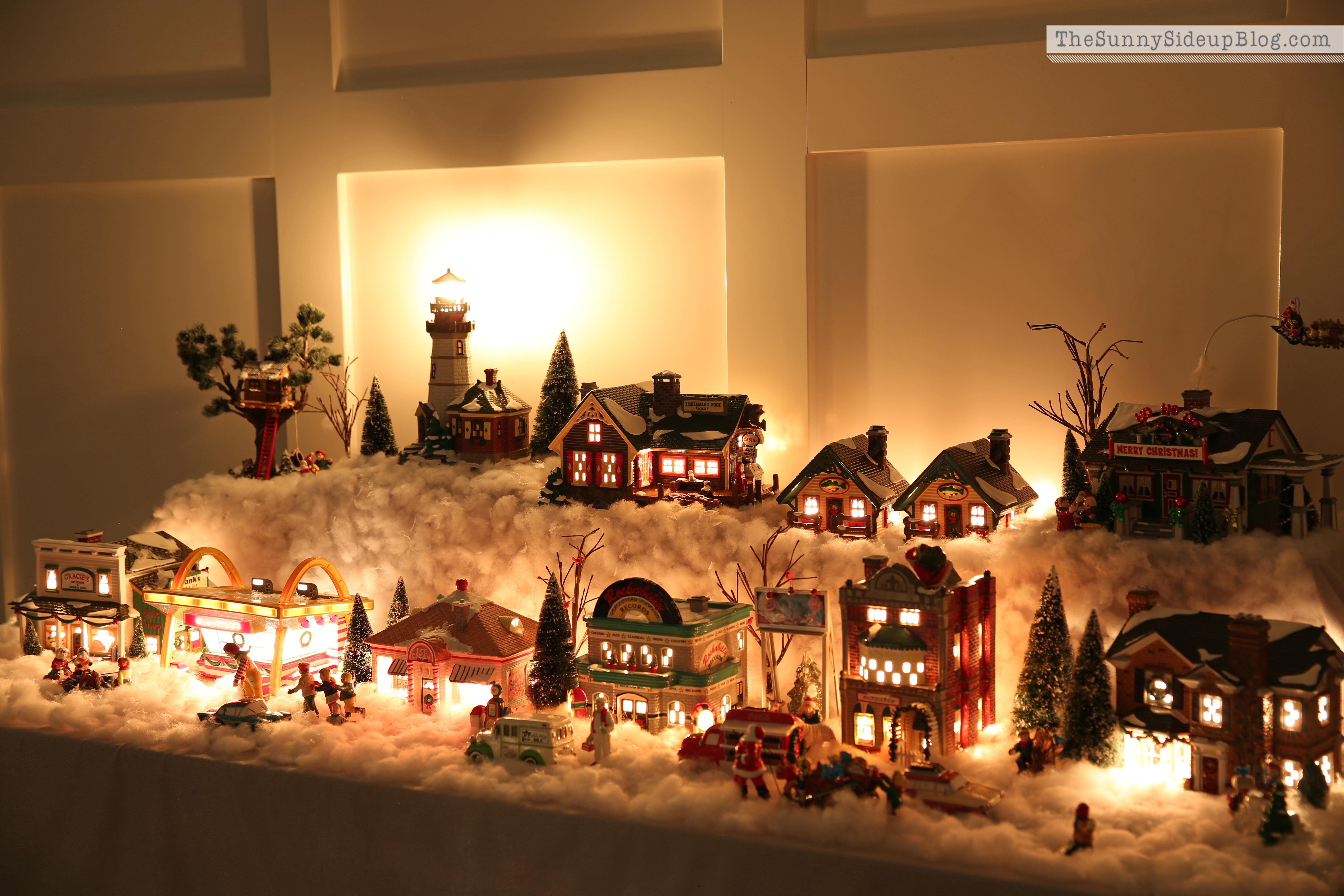village-lights