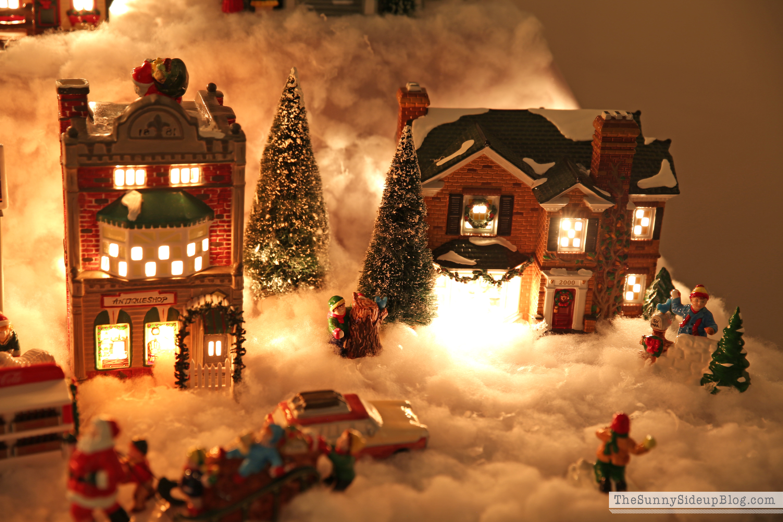 village-snow