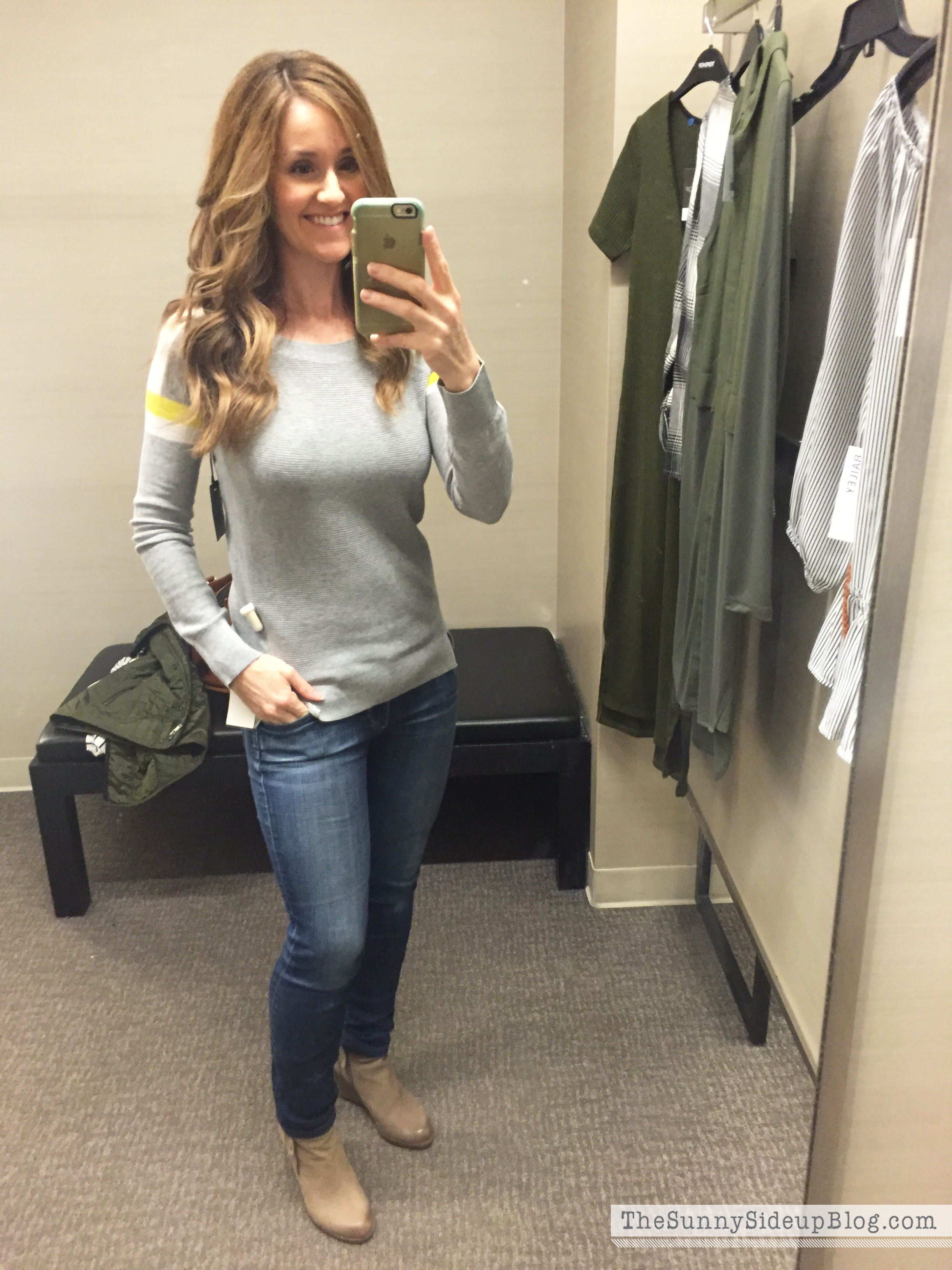 dressing room sweater