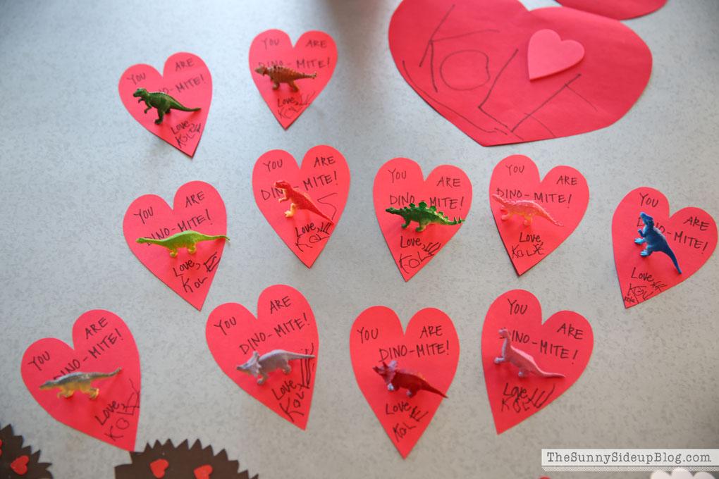 ... Dinosaur Valentines