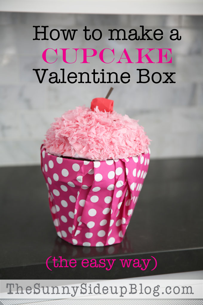 How to make a Cupcake Valentine Box (and other fun valentine ideas)