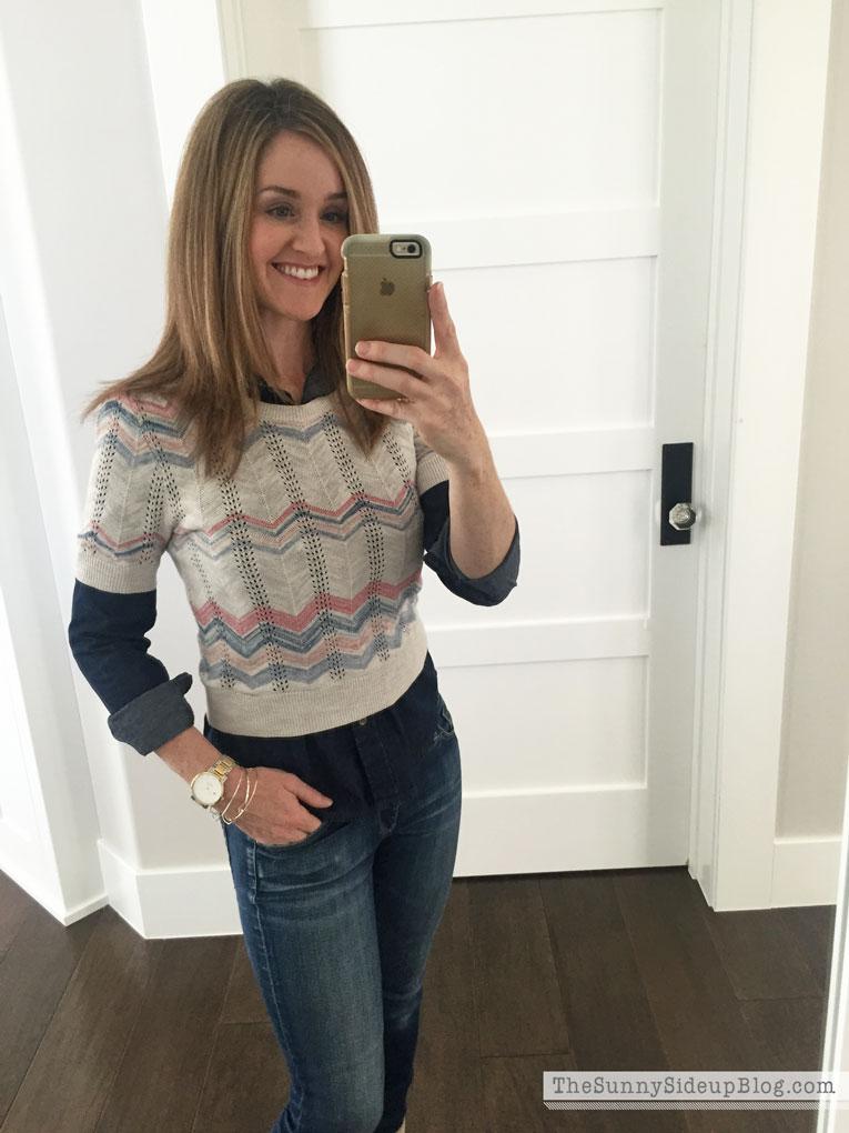 chevron-sweater