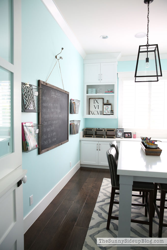 Cool Decorated Office Craft Room The Sunny Side Up Blog Largest Home Design Picture Inspirations Pitcheantrous