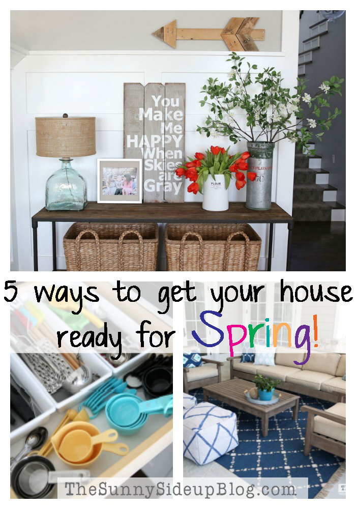 5 ways to get your house ready for SPRING!