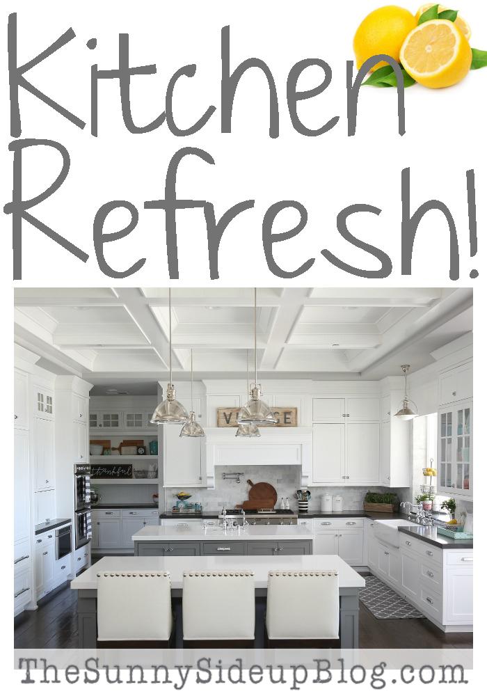 kitchen refresh!