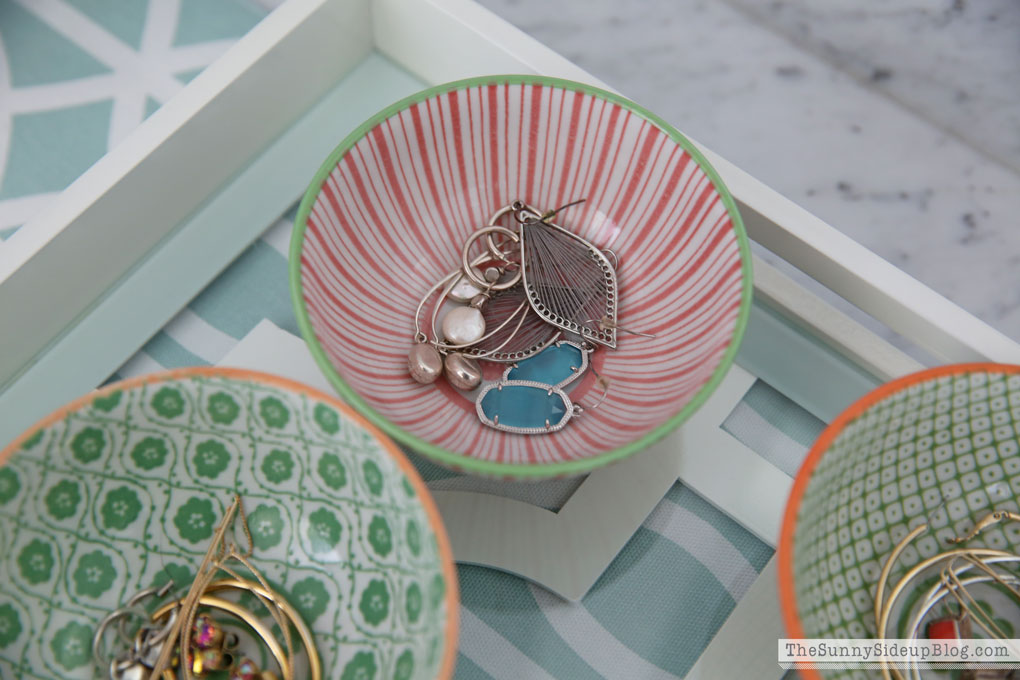 Simple And Pretty Jewelry Organization The Sunny Side