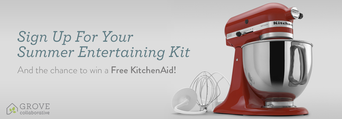 Win a FREE KitchenAid this weekend!!