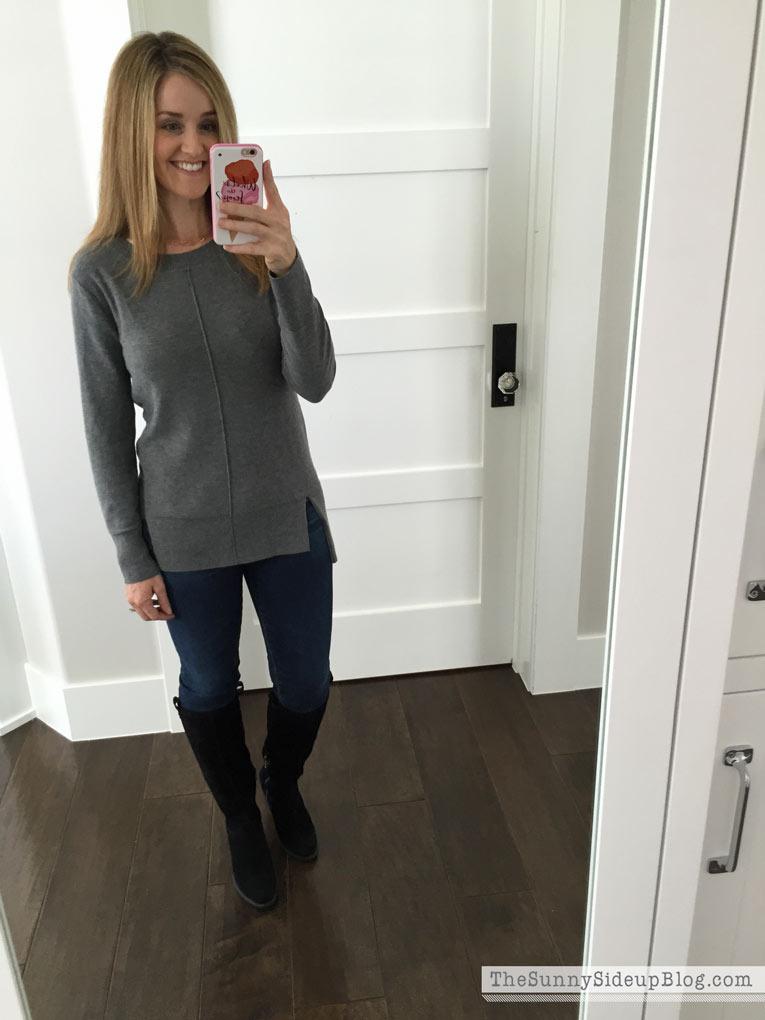 gray-sweater