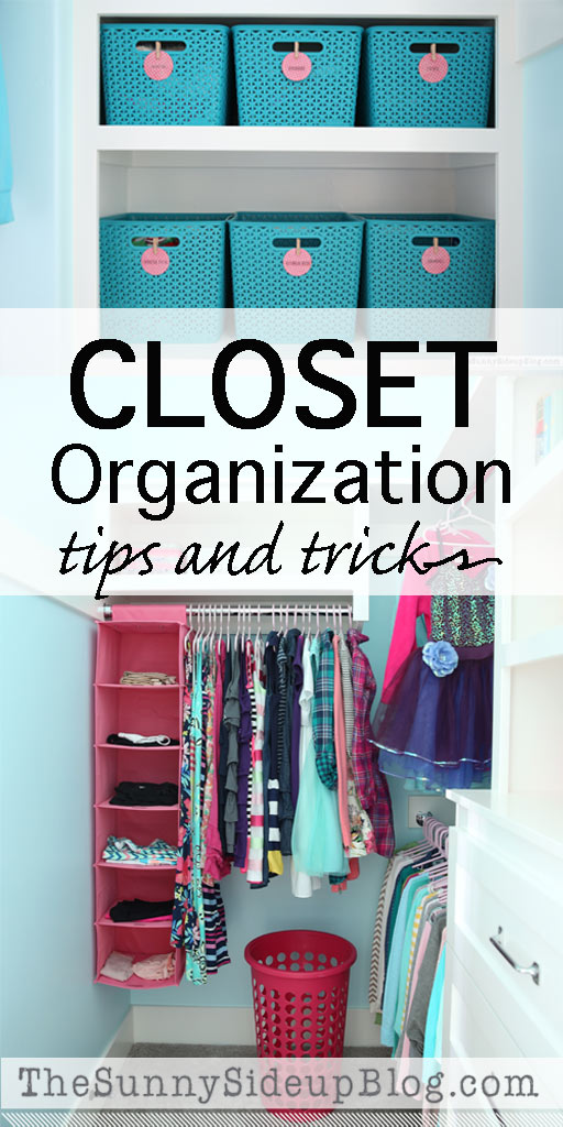 Closet Organization (tips and tricks)
