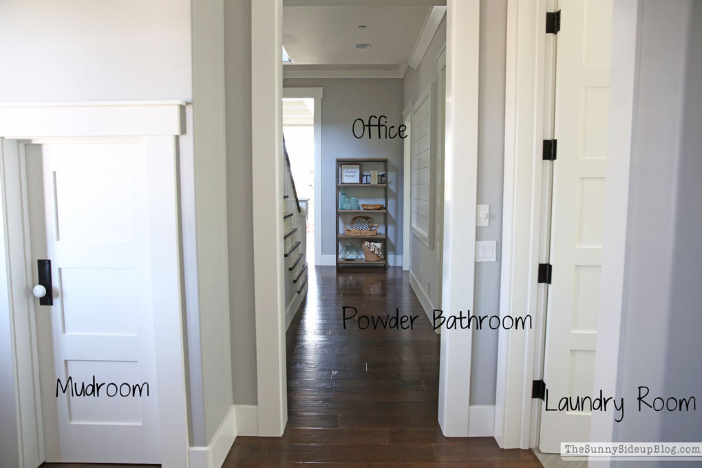 hallway-planked-wall