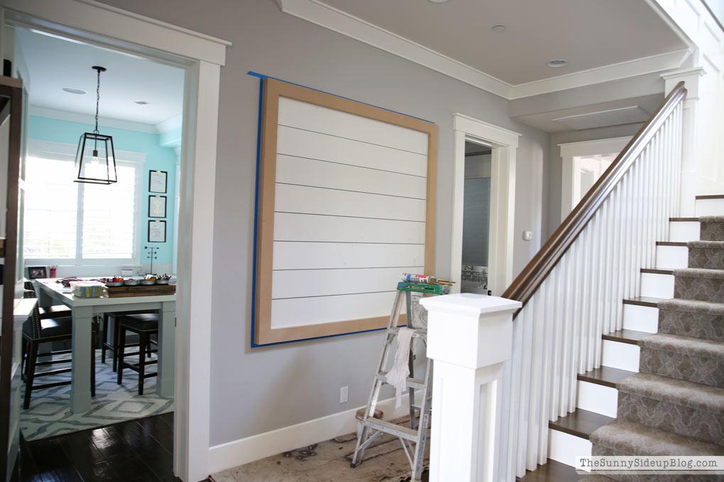 shiplap-hallway-display-board