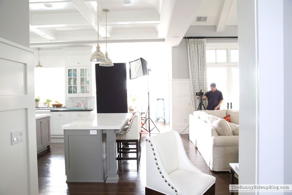 Better Homes And Gardens Kitchen Photoshoot