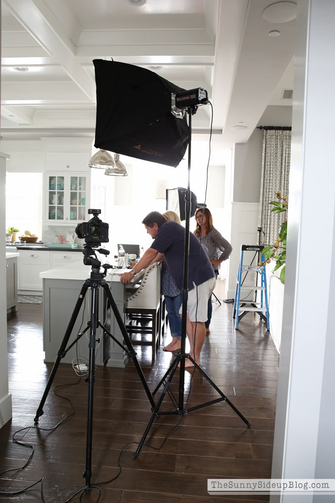 Better Homes and Gardens Photo Shoot!
