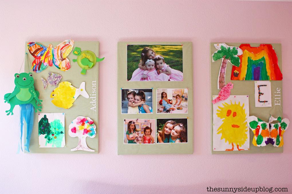 displaying-kids-art-work