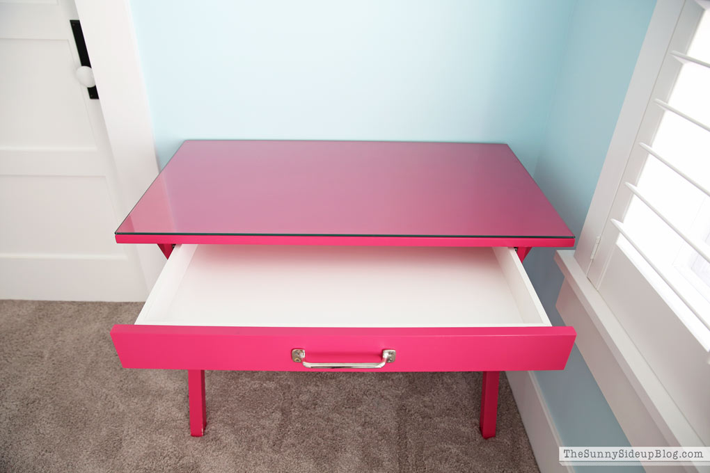 girls desk with drawers Girls  Bedroom Desks The Sunny Side Up Blog