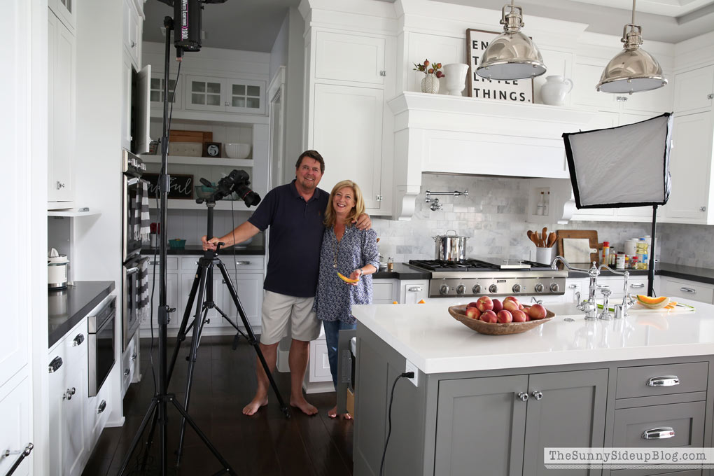 Kitchen Photoshoot With Better Homes And Gardens