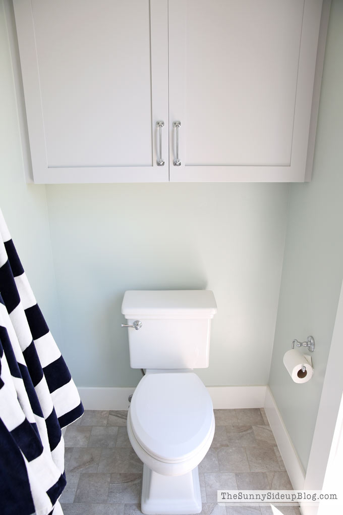 Pool Bathroom Storage