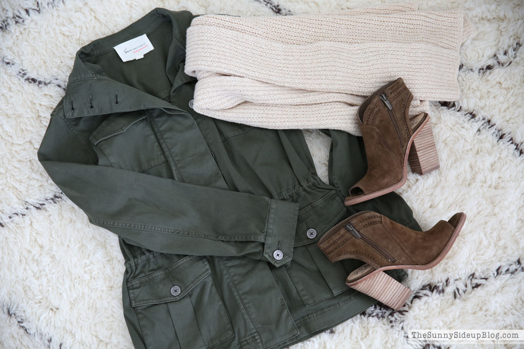 army-vince-camuto-jacket