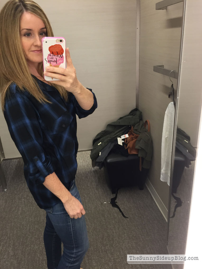 blue-plaid-shirt