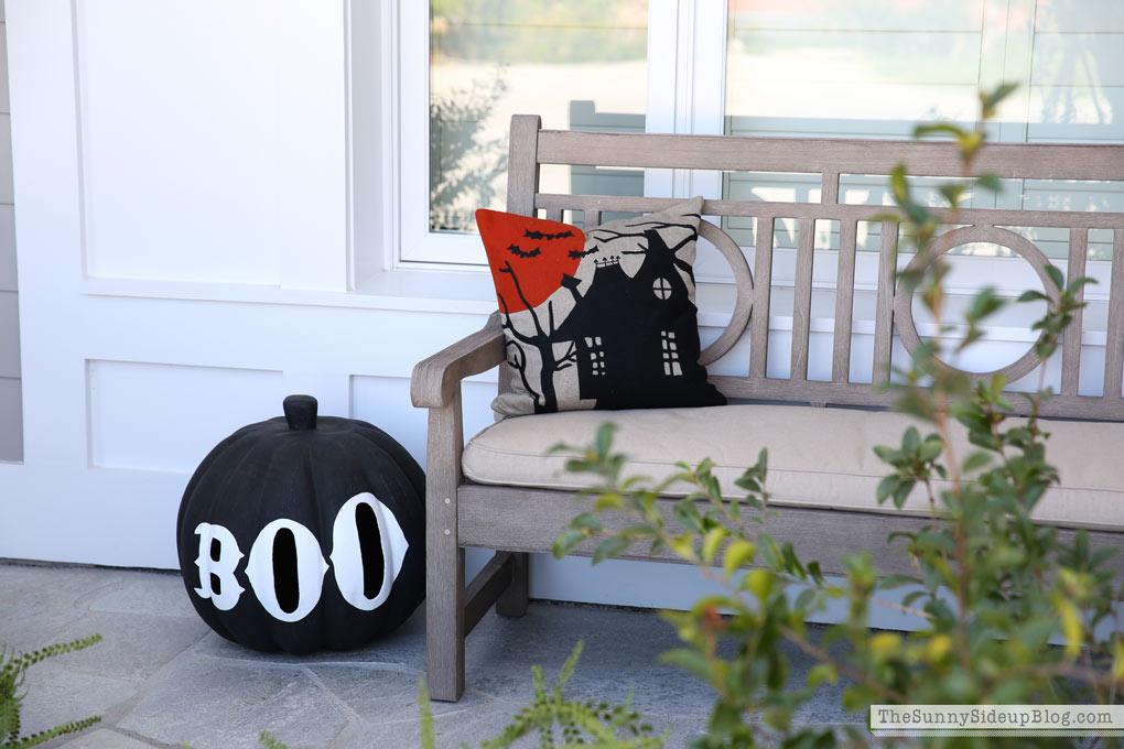 crate-and-barrel-halloween-pillow