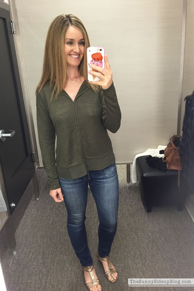 nordstrom-green-shirt