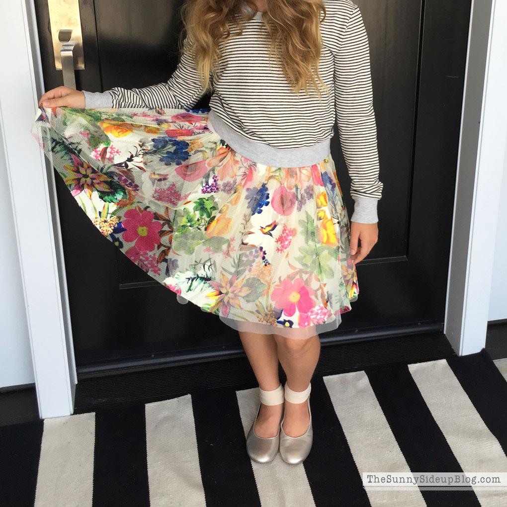 flowered-skirt