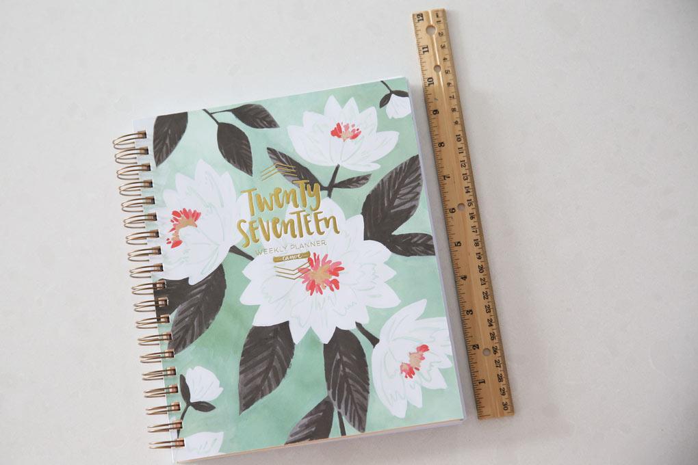 mint-floral-planner-size
