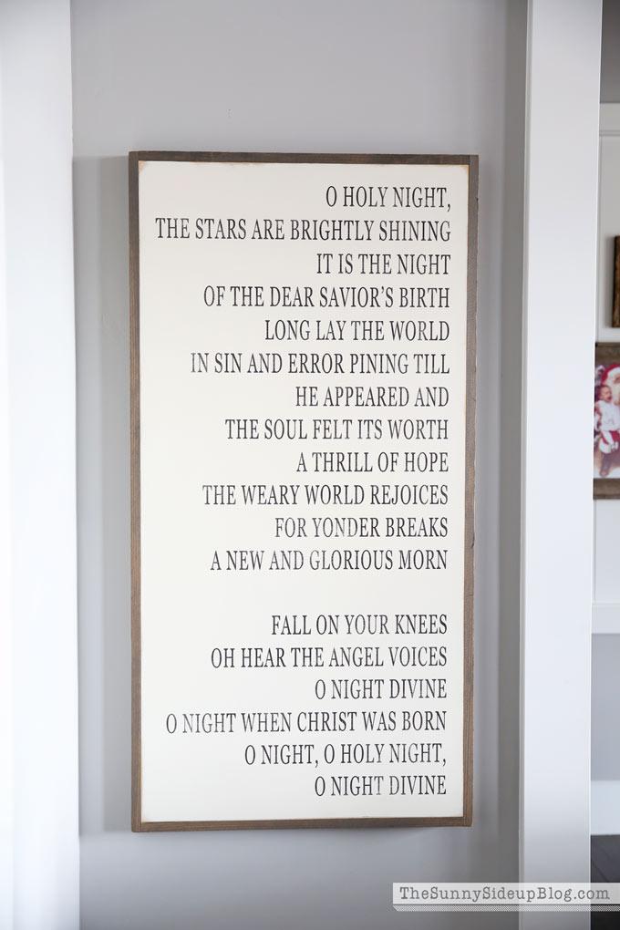 o-holy-night-sign