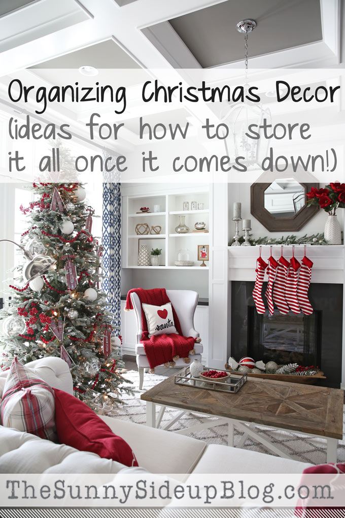 organizing christmas decor i hope you are all enjoying this week the days between christmas and new years are some of my favorite days of the year - How To Organize Christmas Decorations