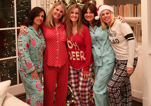 Winter Fashion and a Pajama Party!