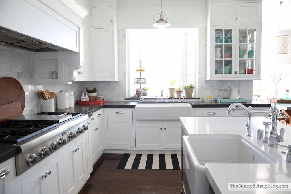 Kitchen decor ideas for Spring! - The Sunny Side Up Blog